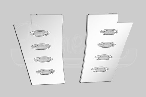 NOTCHED HOOD EXTENSION PANELS image