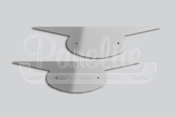 OVAL WITH EXTENSIONS EMBLEM ACCENTS image