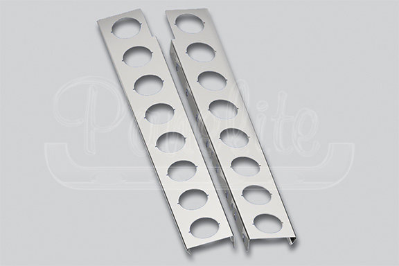 FRONT AIR CLEANER LITE BARS – 2″ ROUND LITE HOLES image