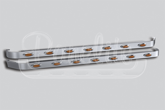 76″ SLEEPER PANELS – DUAL CAB EXHAUST image