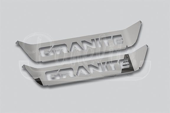 DOOR KICK PLATE – MACK – WITH GRANITE LOGO image