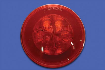 RED STOP/TURN/TAIL LITE GLO-LITE image