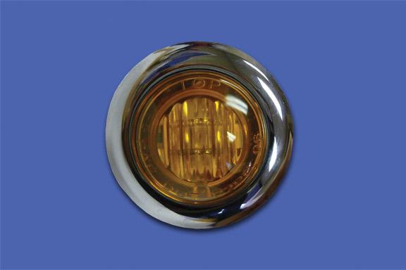 3/4″ ROUND AMBER LED image