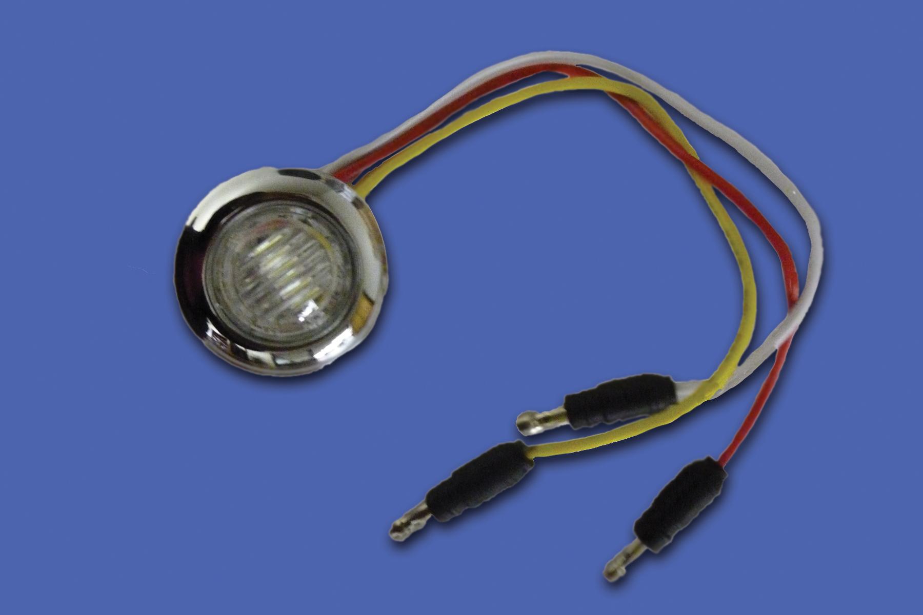3/4″ ROUND DUAL FUNCTION LED image