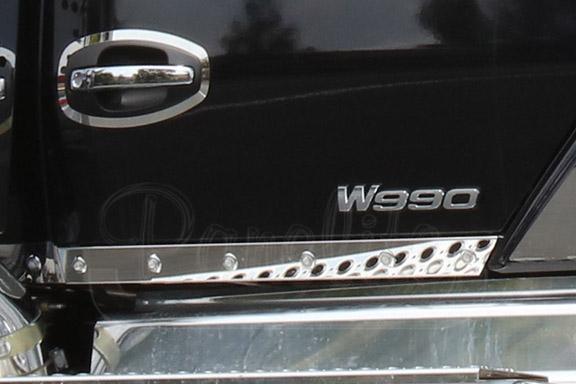 CAB PANELS WITH 3/4″ ROUND LITES – KENWORTH W990 image