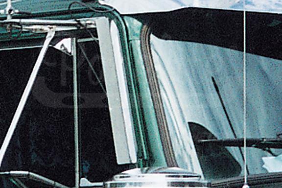 DOOR WINDOW DEFLECTOR image