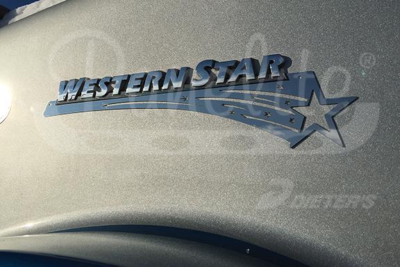 HOOD EMBLEM ACCENT – WESTERN STAR – SHOOTING STAR image