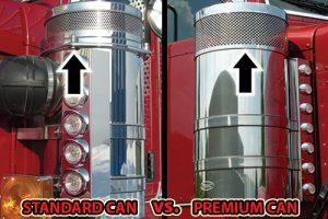 Standard Can VS. Premium Can