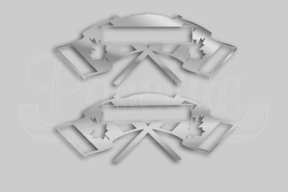 EMBLEM ACCENT – CANADIAN FLAGS image
