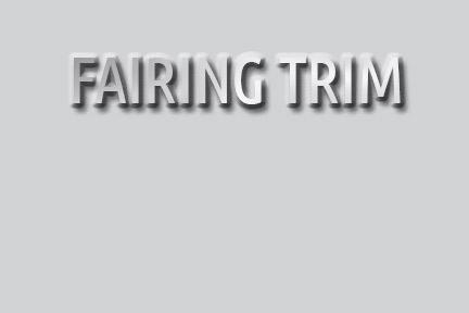 Fairing Trim