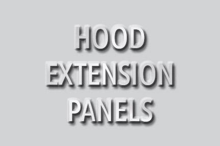 Hood Extension Panels