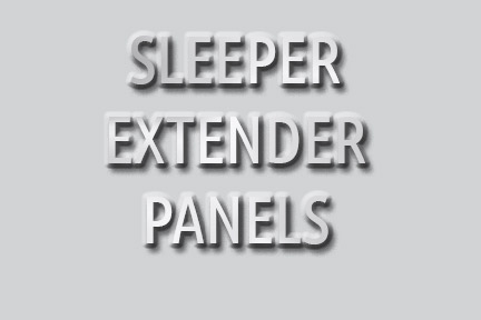 Sleeper Extension Panels