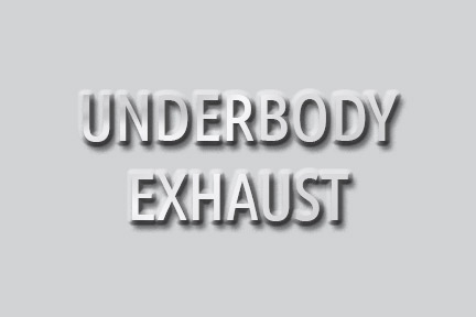 With Underbody Exhaust