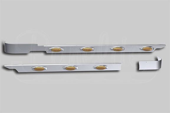 2018+ PETERBILT 367 SET-BACK AXLE EXTENDED DAYCAB CAB PANELS image