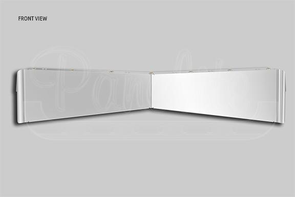 ULTRACAB SUNVISOR – BOLTLESS REVERSE BOWTIE image