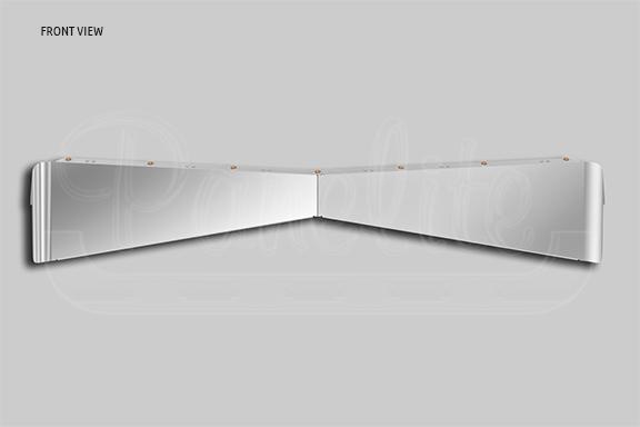 ULTRACAB BOLTLESS BOWTIE SUNVISOR – TOPLIT image